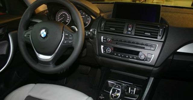2012 BMW 1-Series 120d Urban Line  第6張相片