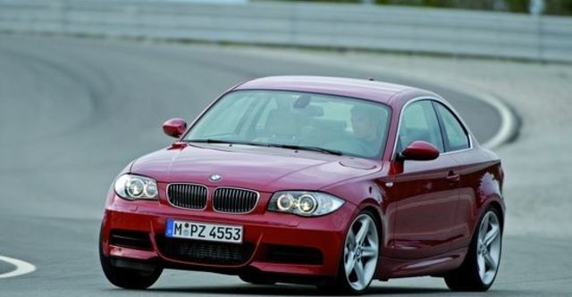 2012 BMW 1-Series Coupe 135i  第10張相片