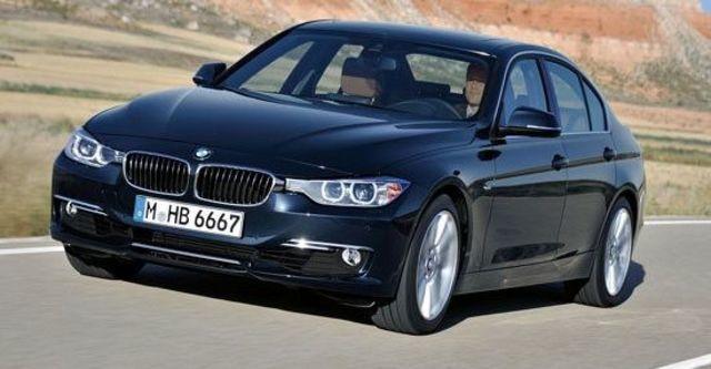2012 BMW 3-Series Sedan 318d  第1張相片