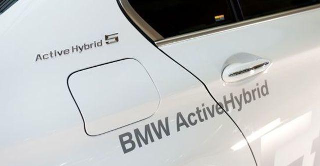 2012 BMW 5-Series Sedan ActiveHybrid 5  第5張相片
