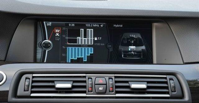 2012 BMW 5-Series Sedan ActiveHybrid 5  第8張相片