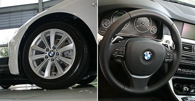 2012 BMW 5-Series Touring 520d  第13張相片