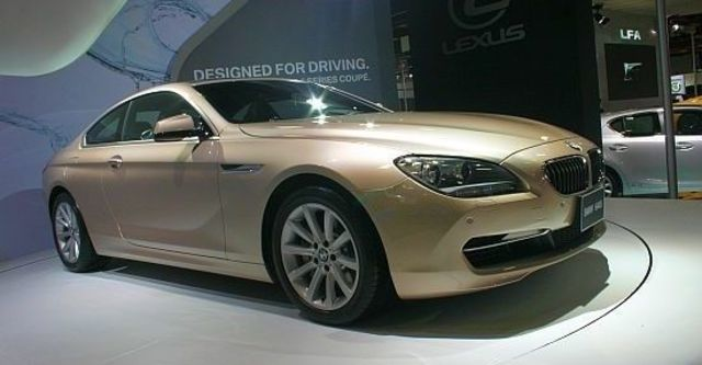 2012 BMW 6-Series Coupe 640i  第1張相片