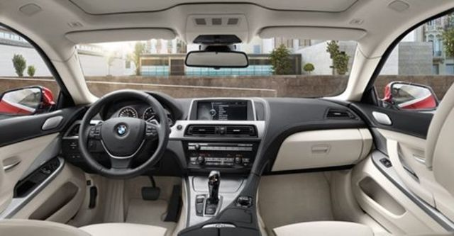 2012 BMW 6-Series Coupe 640i  第8張相片