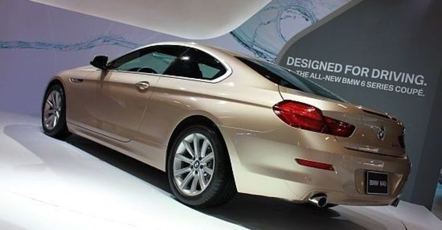 2012 BMW 6-Series Coupe 640i  第10張相片