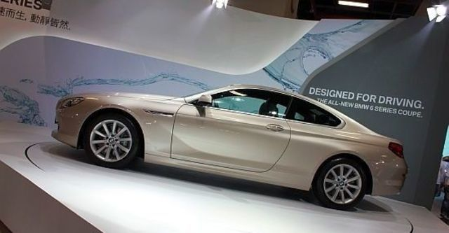2012 BMW 6-Series Coupe 640i  第11張相片