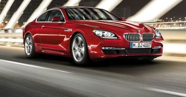 2012 BMW 6-Series Coupe 650i  第1張相片