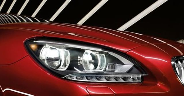 2012 BMW 6-Series Coupe 650i  第7張相片