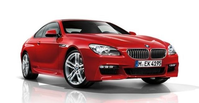 2012 BMW 6-Series Coupe 650i  第9張相片