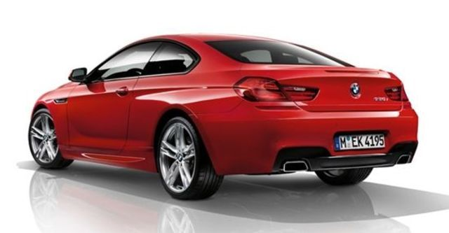 2012 BMW 6-Series Coupe 650i  第10張相片