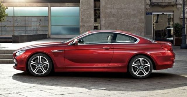 2012 BMW 6-Series Coupe 650i  第11張相片