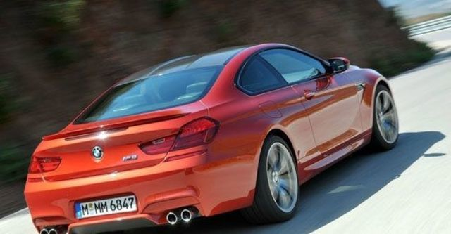 2012 BMW 6-Series Coupe M6  第10張相片