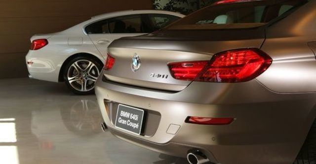2012 BMW 6-Series Gran Coupe 640d  第3張相片