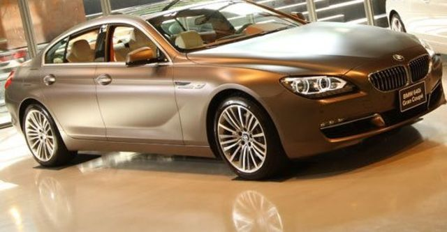 2012 BMW 6-Series Gran Coupe 640i  第1張相片