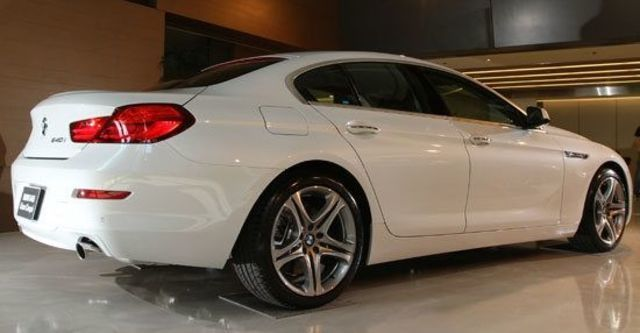 2012 BMW 6-Series Gran Coupe 640i  第3張相片