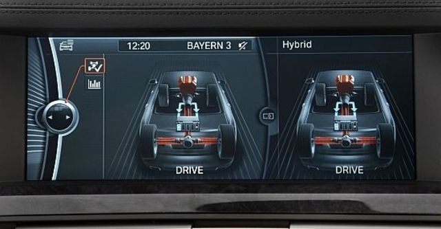 2012 BMW 7-Series ActiveHybrid 7 L  第8張相片