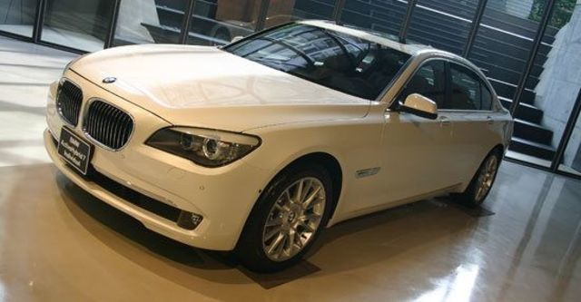 2012 BMW 7-Series ActiveHybrid 7 L Individual  第1張相片