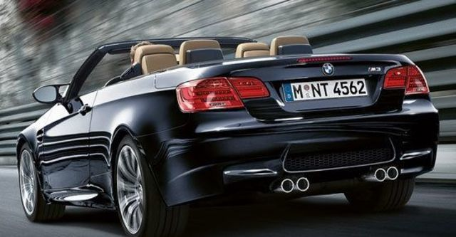 2011 BMW 3-Series Convertible M3  第3張相片