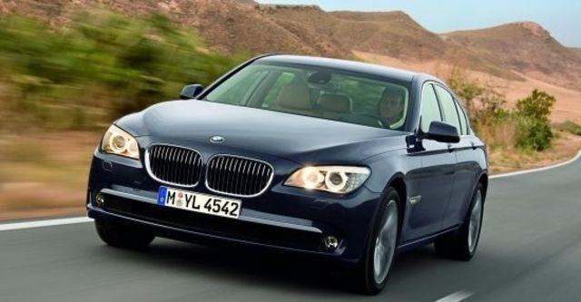 2011 BMW 7-Series 730d  第1張相片