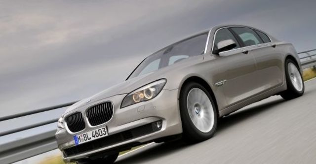 2011 BMW 7-Series 730Li  第1張相片
