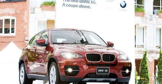 2011 BMW X6 xDrive40d  第1張相片