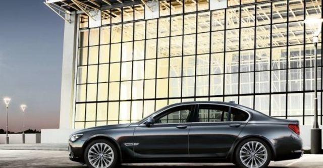 2010 BMW 7-Series 740Li  第5張相片