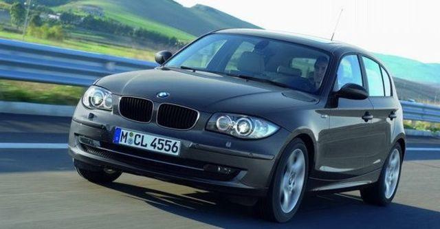 2008 BMW 1 Series 120d  第11張相片