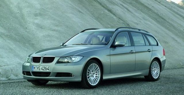 2008 BMW 3 Series Touring 320d  第1張相片