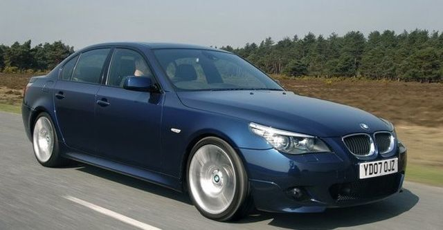 2008 BMW 5 Series 535d  第7張相片