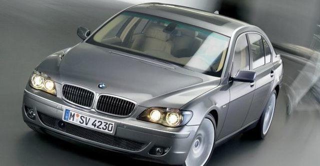 2008 BMW 7 Series 740Li Individual  第9張相片