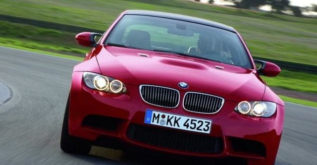 2008 BMW M3 Coupe  第8張相片