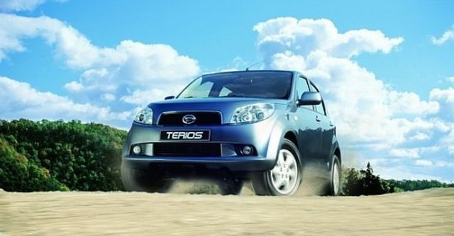 2010 Daihatsu Terios 4WD LX  第2張相片