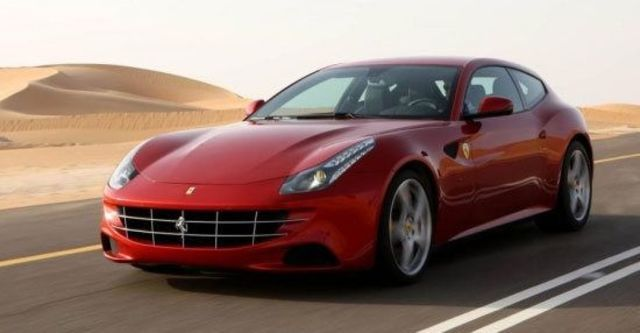 2012 Ferrari FF V12  第1張相片