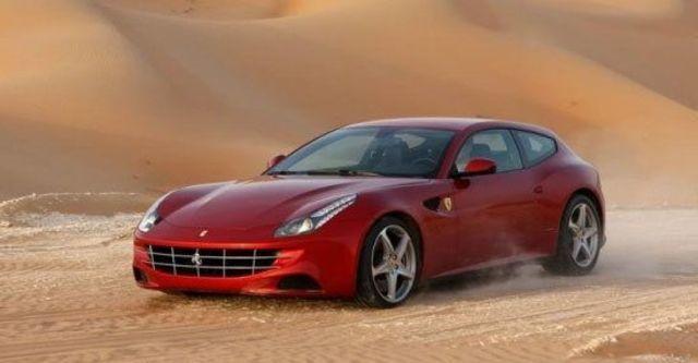 2012 Ferrari FF V12  第4張相片