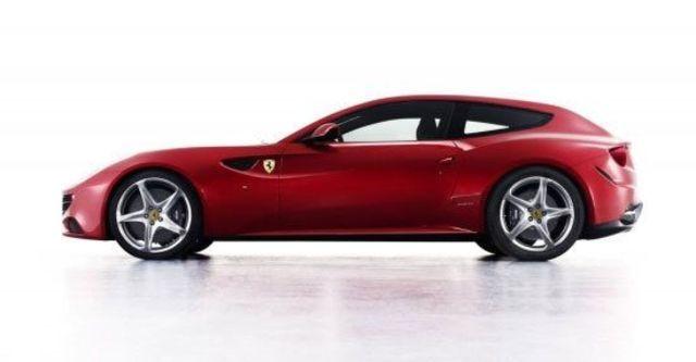 2012 Ferrari FF V12  第8張相片