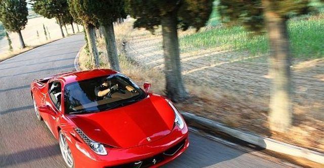 2011 Ferrari 458 Italia Coupe  第1張相片