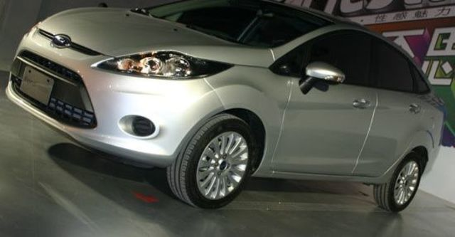 2012 Ford Fiesta 4D 1.6 Powershift時尚版  第1張相片