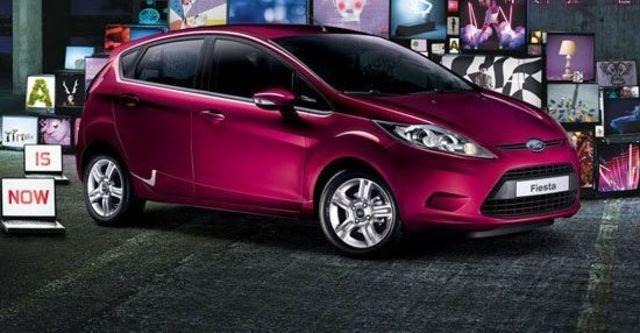 2011 Ford Fiesta 1.4時尚版(鈦銀紫)  第1張相片