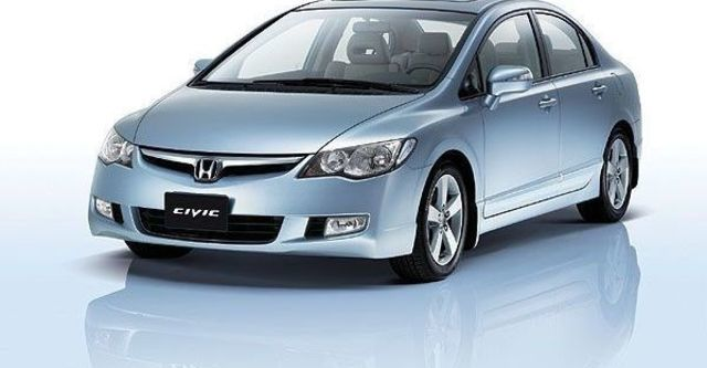 2008 Honda Civic 1.8 EX-S  第2張相片