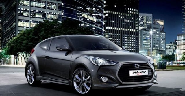 2015 Hyundai Veloster(NEW) 1.6 Turbo豪華款  第1張相片