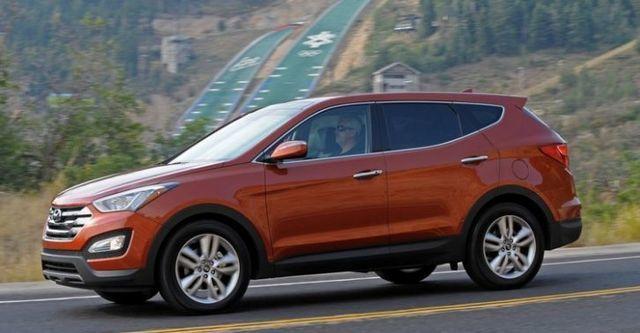 2014 Hyundai Santa Fe 2.2豪華款  第2張相片