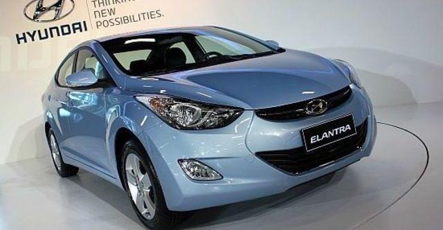 2013 Hyundai Elantra 1.8 GLS豪華型  第2張相片