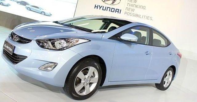 2013 Hyundai Elantra 1.8 GLS豪華型  第7張相片
