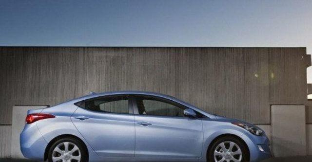 2013 Hyundai Elantra 1.8 GLS豪華型  第11張相片
