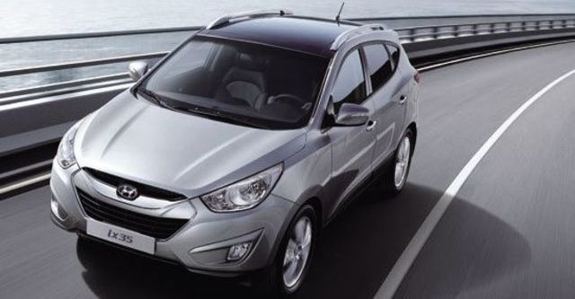 2013 Hyundai ix35 2.4 4WD旗艦型  第2張相片