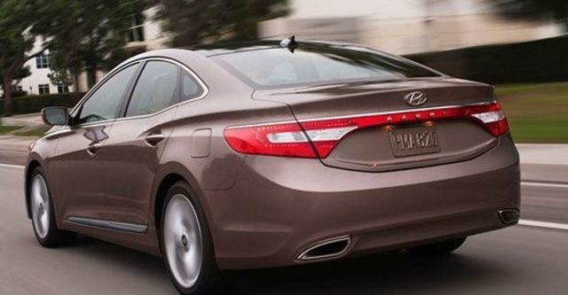 2012 Hyundai Azera 3.0 V6  第4張相片