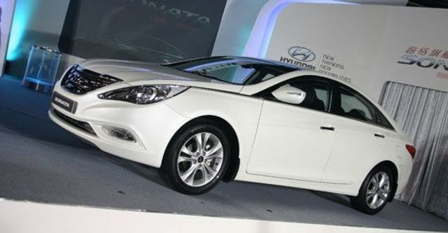 2012 Hyundai Sonata 2.4 GLS  第2張相片