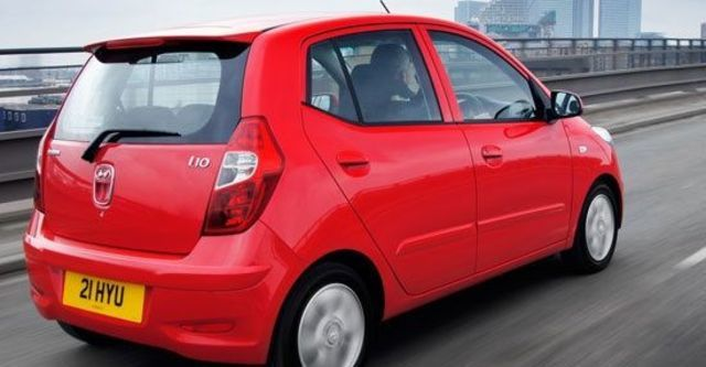 2011 Hyundai i10 手排款  第4張相片