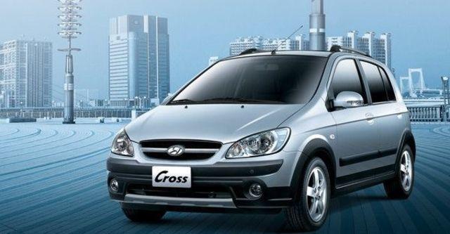 2008 Hyundai Getz 1.4 Cross  第1張相片
