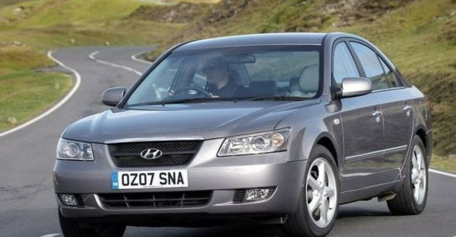 2008 Hyundai Sonata 2.0 DSL豪華版  第2張相片